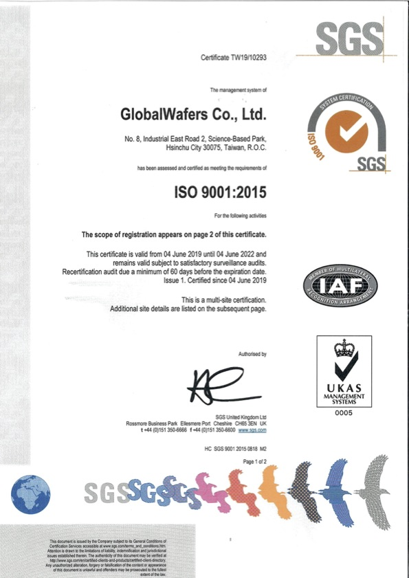 GlobalWafers Japan Co., Ltd.